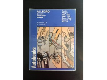 Austin Allegro. Owners Workshop Manual.