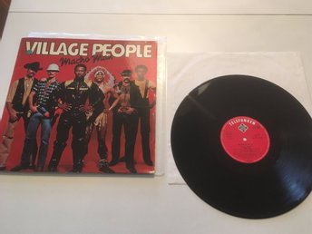 Village People - Macho Man   vinyl LP