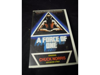 A force of one - chuck norris  - VHS