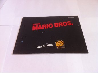 NES - Manualer: Super Mario Bros. (Endast manual -Tysk)