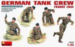 Miniart 1/35 German Tank Crew - France 1944