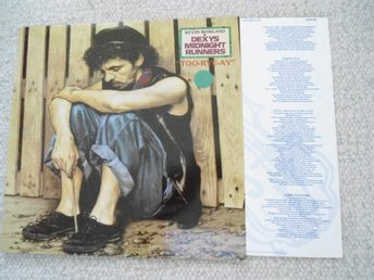 "LP : KEVIN ROWLAND & DEXY'S MIDNIGHT RUNNERS : ""TOO-RYE-AY"" 1982"