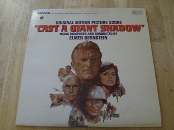 CAST A GIANT SHADOW Soundtrack [ KIRK DOUGLAS JOHN WAYNE ]
