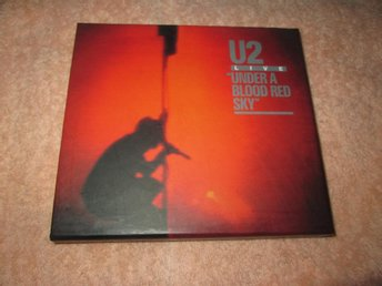 U2 UNDER A BLOOD RED  SKY  CD PLUS DVD I ASK
