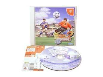 Virtua Striker 2 Ver 2000 inkl Spine Japanskt