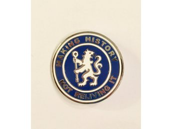 "Chelsea ""making history"" pin!"