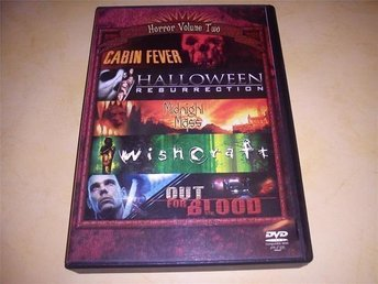 Cabin Fever, Wishcraft, Out For Blood m.fl (5-disc Box)
