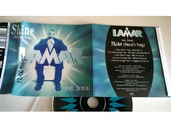 Lamar feat. Jemini - Shine (David`s song), single CD