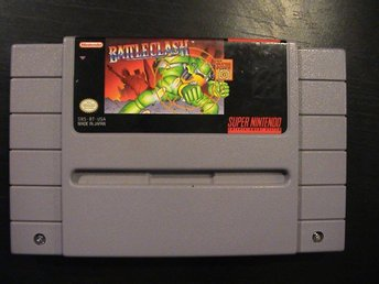 BATTLECLASH / SUPER NINTENDO SNES / USA IMPORT