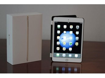 Apple iPad mini 4 (Wi-Fi/Cellular) 16GB Gold - Mycket gott skick + originallåda
