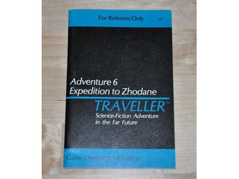 GDW 325 Traveller Adventure 6 Expedition to Zhodane