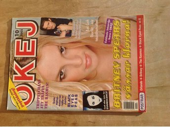 Okej Nr 10 2003 med posters. Orlando Bloom, Britney, The Rasmus Mycket fin!