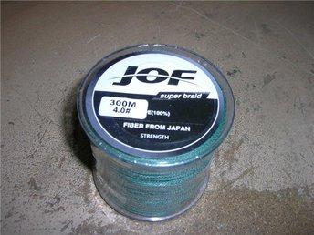 NY flätlina JOF 300m grön0,30mm styrka 22,7kg - Härnösand - NY flätlina JOF 300m grön0,30mm styrka 22,7kg - Härnösand