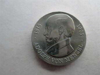 DDR 5 mark, 1980 Adolph von Menzel. - Geraardsbergen - DDR 5 mark, 1980 Adolph von Menzel. - Geraardsbergen
