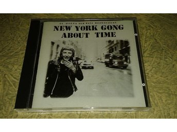 New York Gong – About Time CD 1990 New wave, punk, avantgarde.