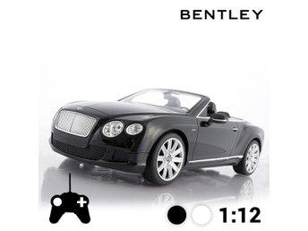 Bentley Continental GT cabriolet bil fjärrkontroll - Svart - Ingarö - Bentley Continental GT cabriolet bil fjärrkontroll - Svart - Ingarö
