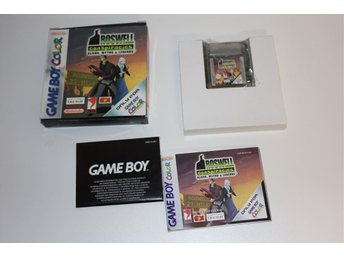 Roswell Conspiracies - Nintendo Gameboy color
