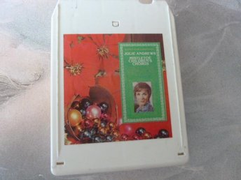 JULIE ANDREWS,  SONGS FOR CHRISTMAS,   KASSETTBAND, 8-TRACK
