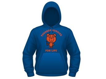 TED- THUNDER BUDDIES FOR LIFE Hoodie - Medium
