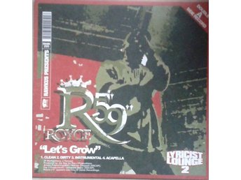 "Cocoa Brovaz / Royce Da 5'9""* Get Up / Let's Grow* Hip Hop US 12"""