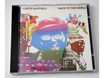 Curtis Mayfield / Back To The World CD