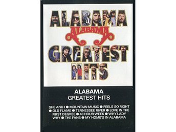 Alabama ?–Greatest Hits Cassette Germany 1986 Southern rock - Motala - Alabama ?–Greatest Hits Cassette Germany 1986 Southern rock - Motala