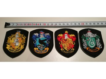 Harry Potter tygmärke 4st (patch) broderad