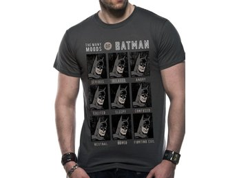 BATMAN - MOODS OF BATMAN (UNISEX)  T-Shirt - Extra-Large