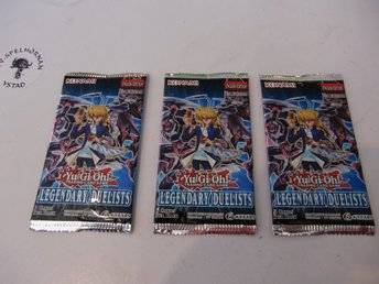 Yu-Gi-Oh! Legendary Duelists booster pack 3 st