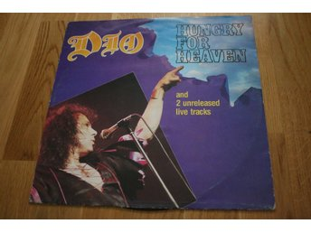 Dio - Hungry For Heaven 12'' maxi Vertigo 1985