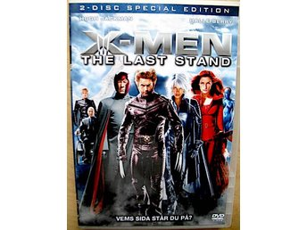 X-MEN 3 -THE LAST STAND (2006) (2-disc) R2/Sv.text