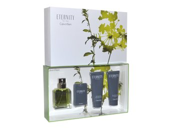 Calvin Klein Eternity for Men Gåva EdT, After Shave, Schampo
