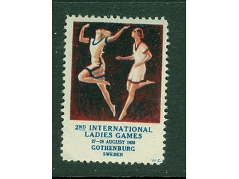 INTERNATIONEL LADIES GAME  1926  GÖTEBORG BREVMÄRKE