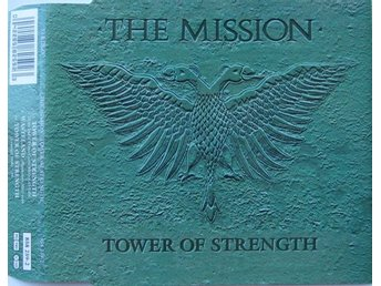 Mission - Tower Of Strength +2 - RARE CD maxi!!