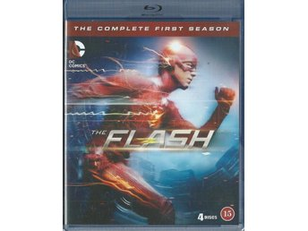 THE FLASH - THE COMPLETE FIRST SEASON ( BLU-RAY - SVENSKT )