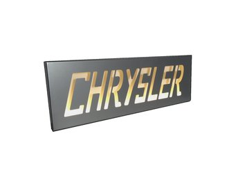 Chrysler Nostalgiskylt Led.