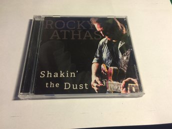 ROCKY ATHAS Shakin The Dust CD 2017 USA Import Blues Rock