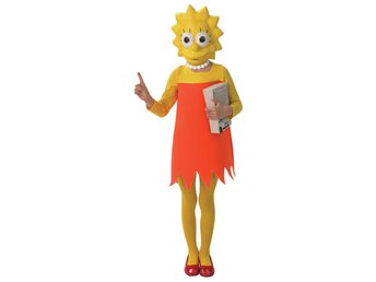 LISA SIMPSON 122/128cl (7-8 år) The Simpsons Homer Bart Marge