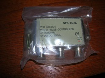 Antenn V/H Switch 22 kHz pulse controlled