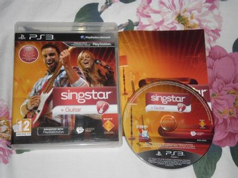 PlayStation 3/PS3: Singstar Guitar (kräver mikrofoner)