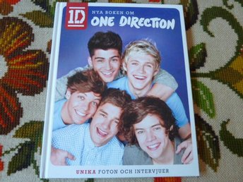 1D, NYA BOKEN OM ONE DIRECTION, UNIKA FOTON OCH INTERVJUER, BOK