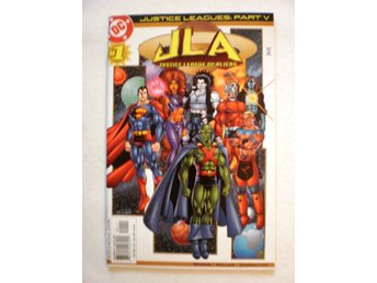 US DC - Justice Leagues: Justice League of Aliens - Oneshot in NM+