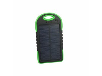Camping Solar power bank 5000 mAh - Grön