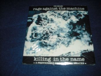 Rage Against The Machine - Killing in the name CD Si 1993