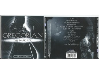 GREGORIAN - The dark Side + bonus track (CD 2004)