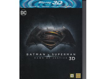 Batman v Superman Dawn of Justice 3D
