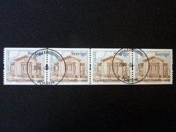 F2374 lyxstämplat 4-strip