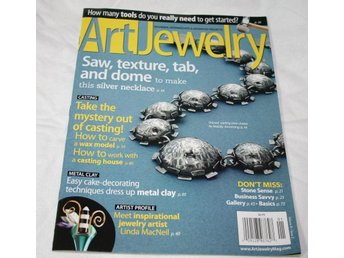 Art Jewelry magazine January 2012, facktidning