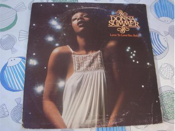 DONNA SUMMER - LOVE TO LOVE YOU BABY LP 1975