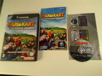 Gamecube - Mario Kart Double Dash - 1:a utgåvan - svensksålt - fint skick - Hägersten - Gamecube - Mario Kart Double Dash - 1:a utgåvan - svensksålt - fint skick - Hägersten